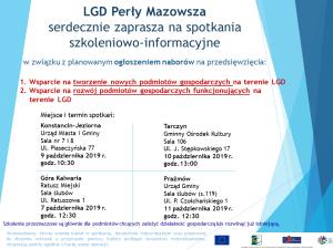 LGD Perły Mazowsza